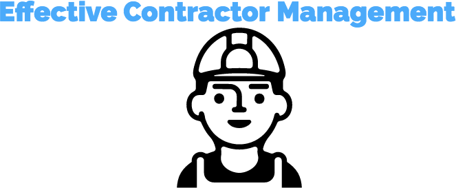 effective contractor management logo